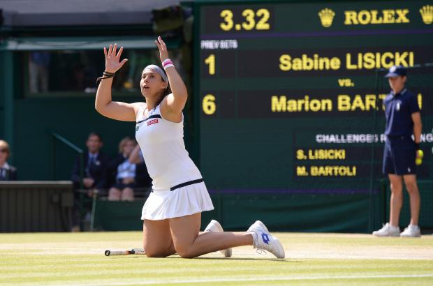 Warrington Guardian: CHAMPION RETIREMENT: Marion Bartoli
