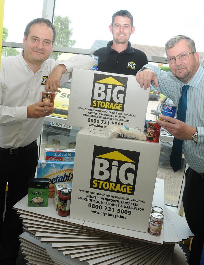 Company Steps Into Help Warrington Food Bank Warrington