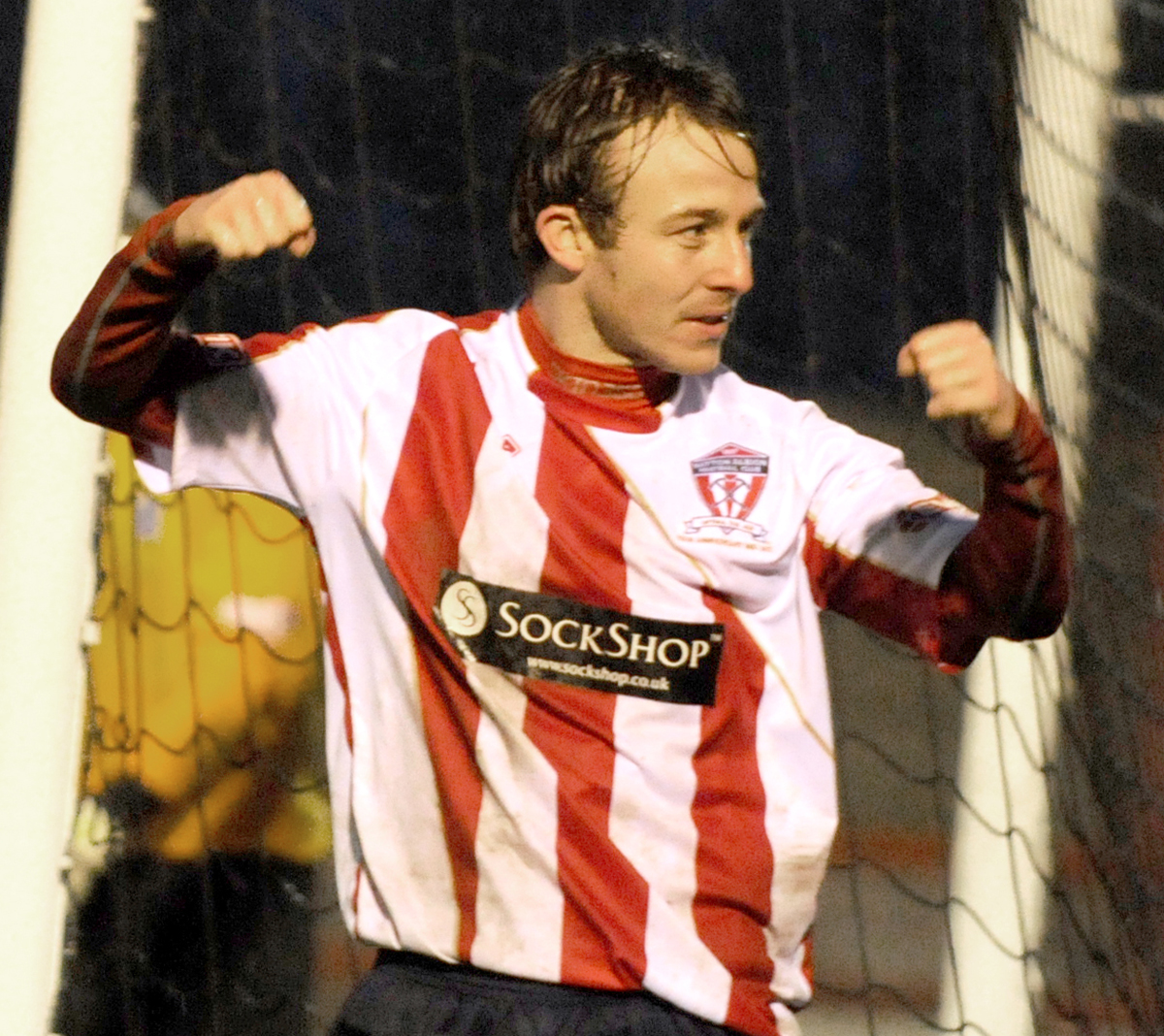 Shaun Tuck in his Witton Albion days