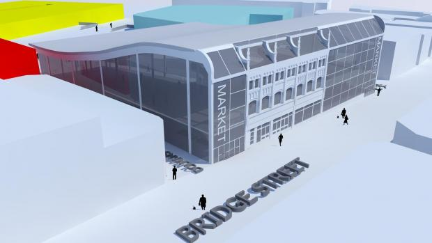 Warrington Guardian: How the new market hall will look