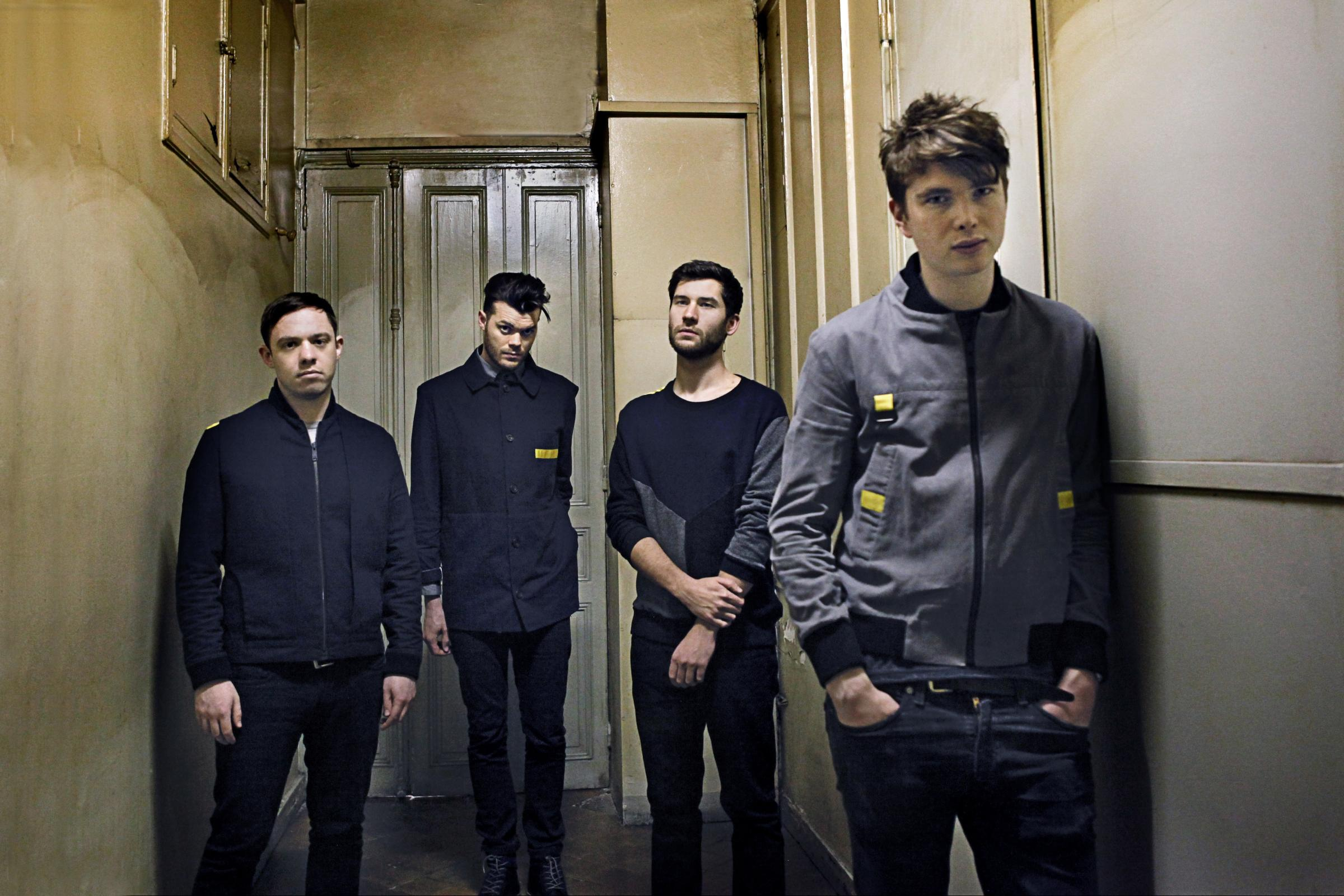 Everything Everything - Jeremy Pritchard is second from left