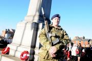 Why was traffic not stopped for Remembrance Sunday?