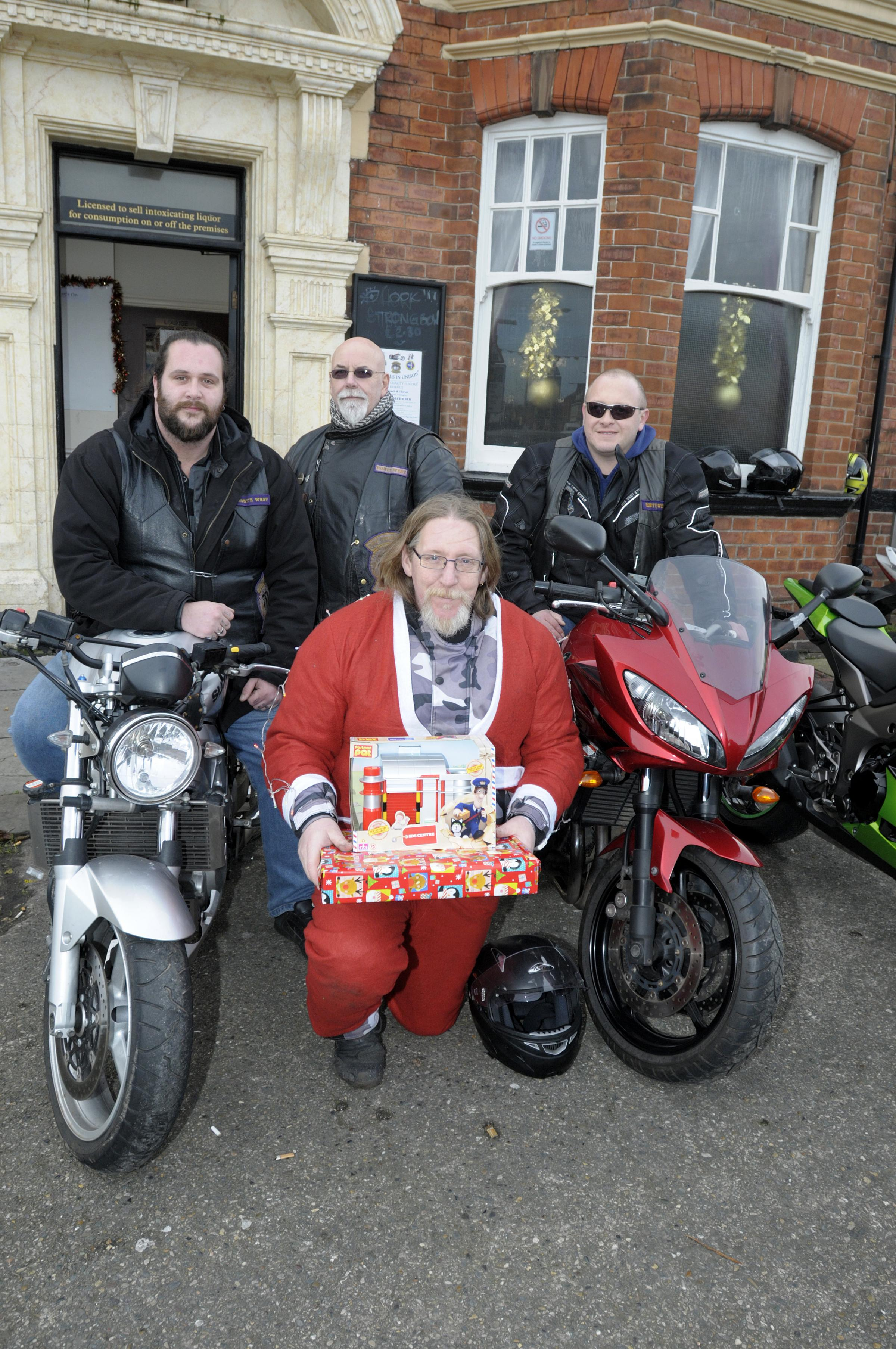 Christmas charity ride brings joy to newborns