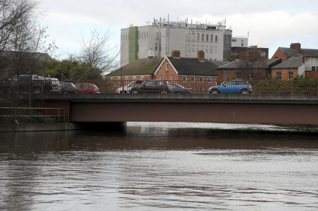 High tides are reported for the Mersey at lunchtime on Sunday
