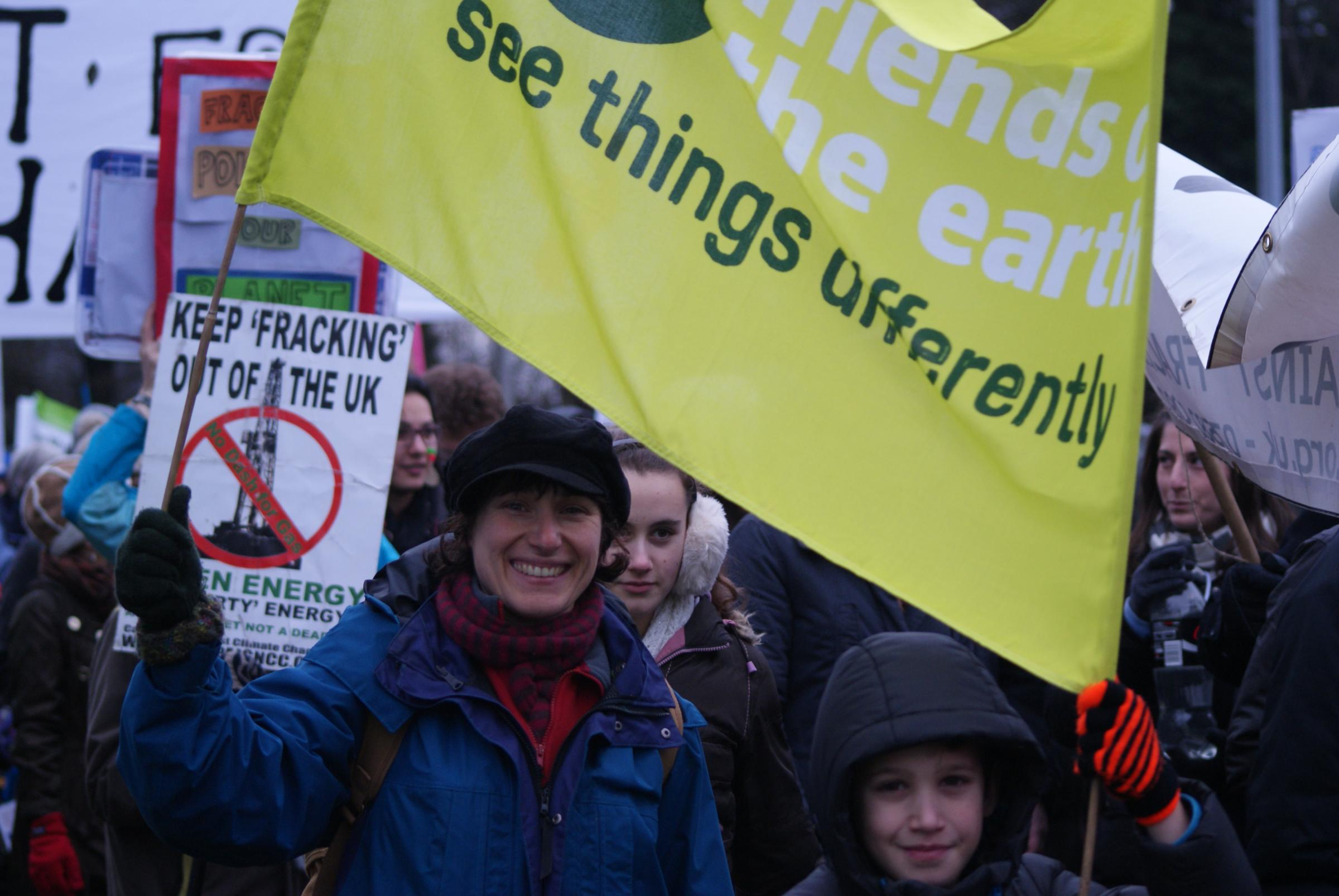 Why I took my family to fracking demonstration