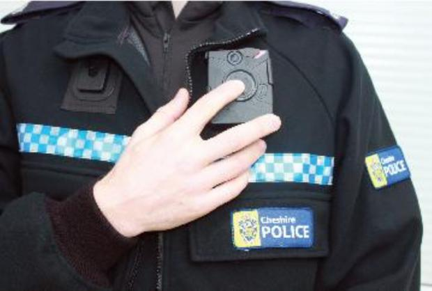 Warrington Guardian: The camera that will be worn by 24 officers
