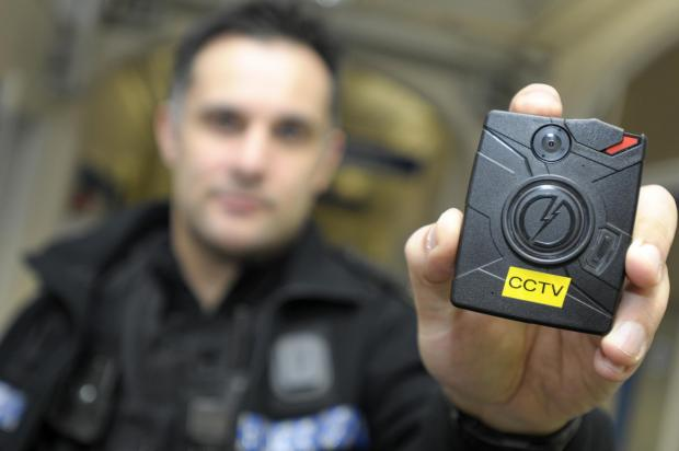 Warrington Guardian: New police cameras used for the first time in Warrington