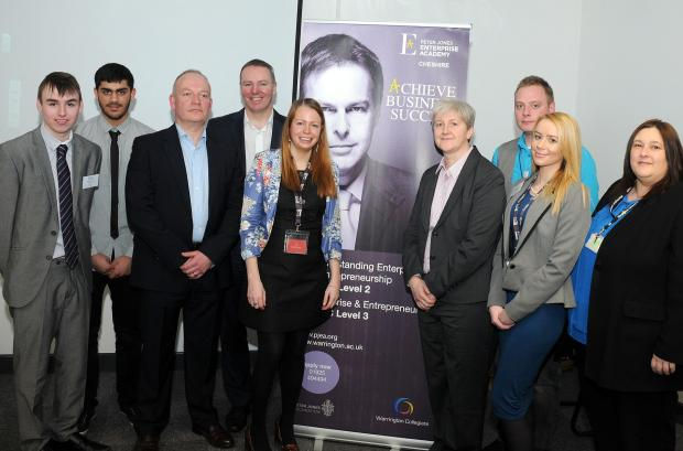 New course for the business brains of tomorrow launches at Warrington Collegiate