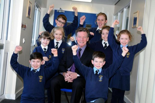 Retired head teacher Greg Barker is the Warrington Guardian's teacher of the month