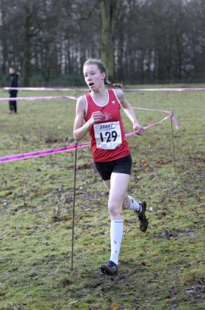 Harriet Knowles-Jones continued her winning ways with a gold at the Greater Manchester Schools Cross Country Championships