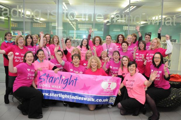 More than 1,000 women to join today's Starlight Walk for Rocco's