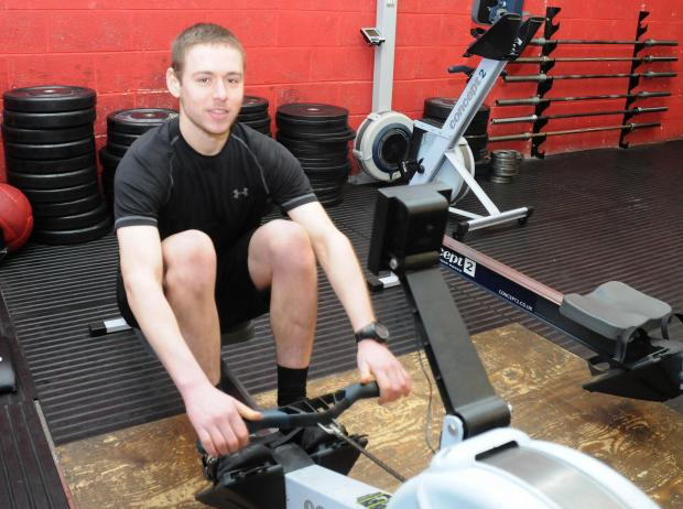 Sankey rower on target for world record