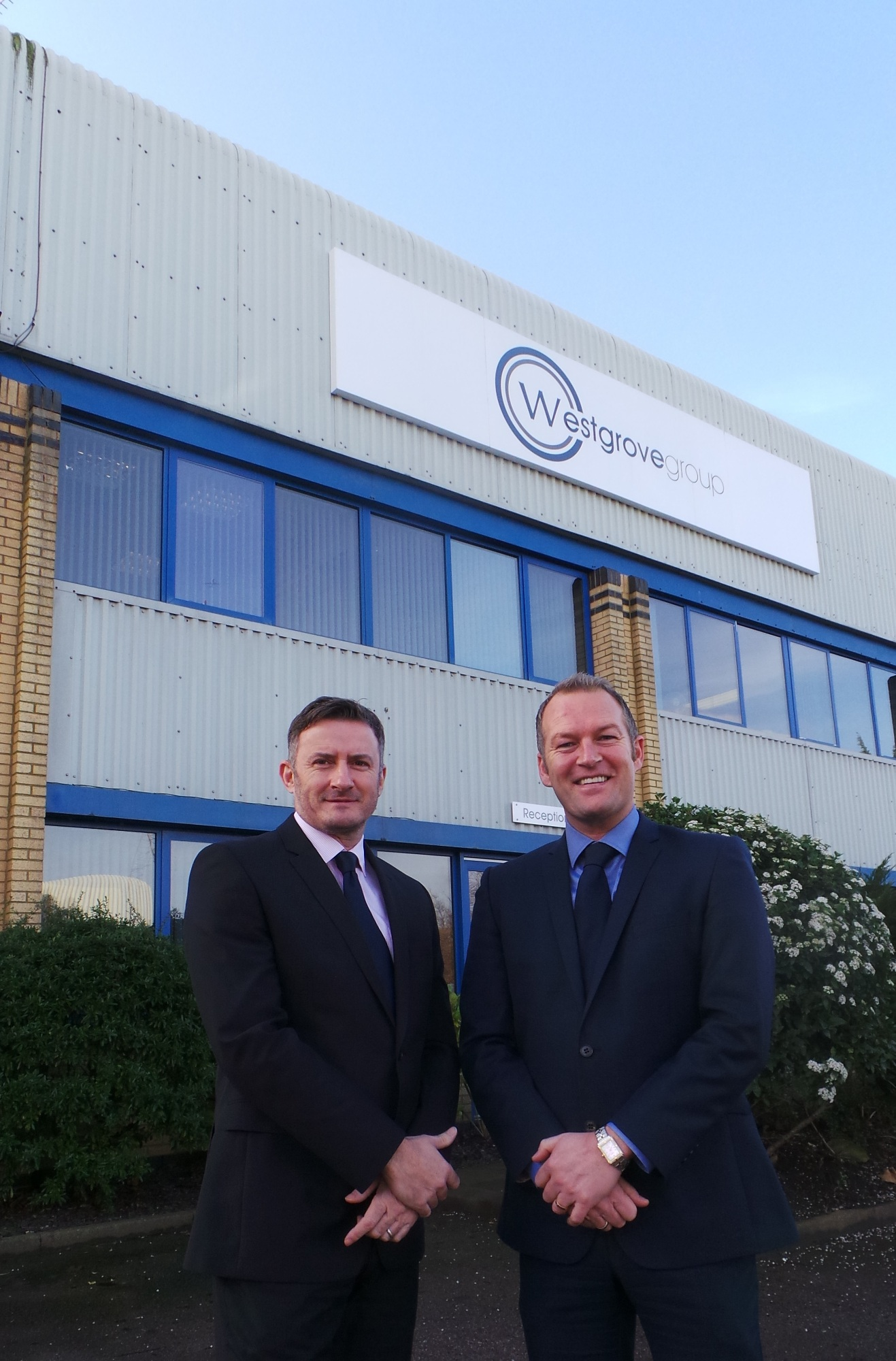 From left are Simon Whittle and Steve Fives, founders of the business