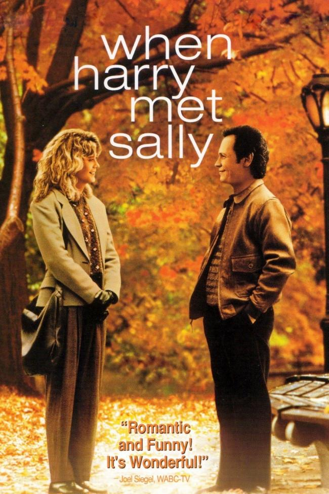 Billy Crystal and Meg Ryan star in 'When Harry Met Sally'