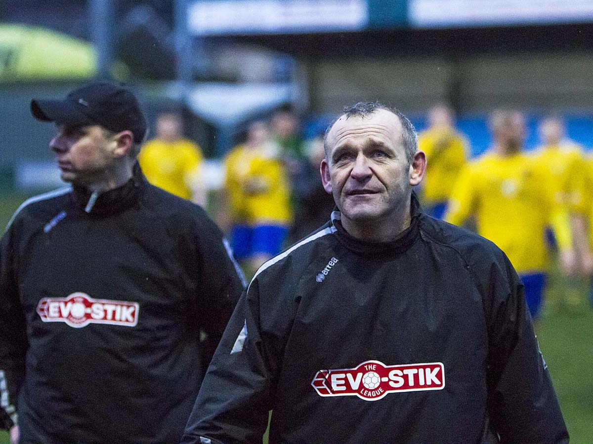 Boss Shaun Reid came off the bench for the Yellows
