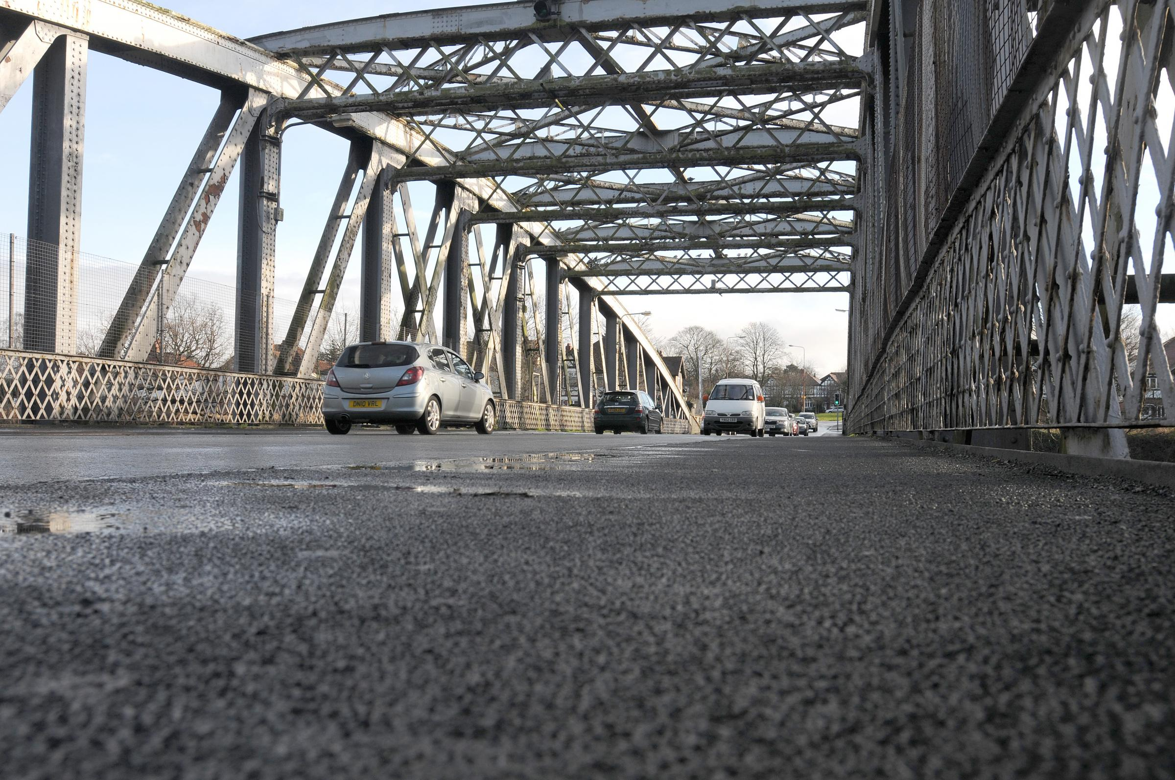 Motorists hit out on swing bridge misery