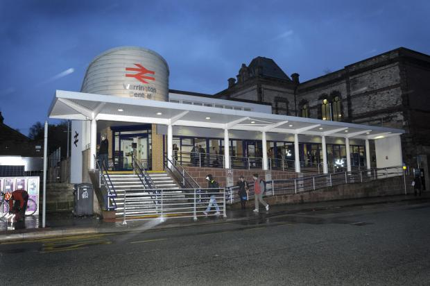 Warrington Central station closes