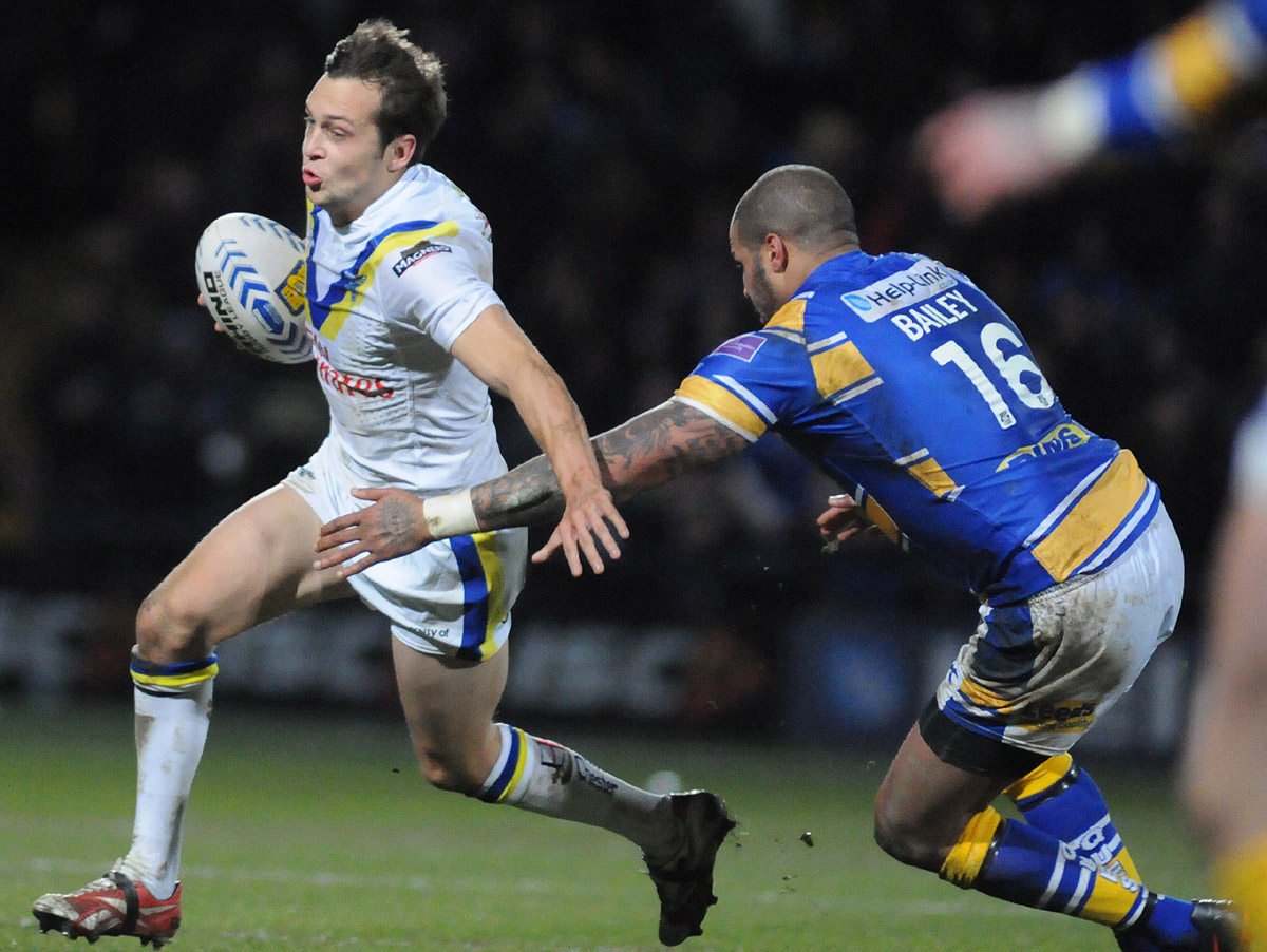 FULL TIME, PICTURES ADDED: Leeds Rhinos 18 Warrington Wolves 12