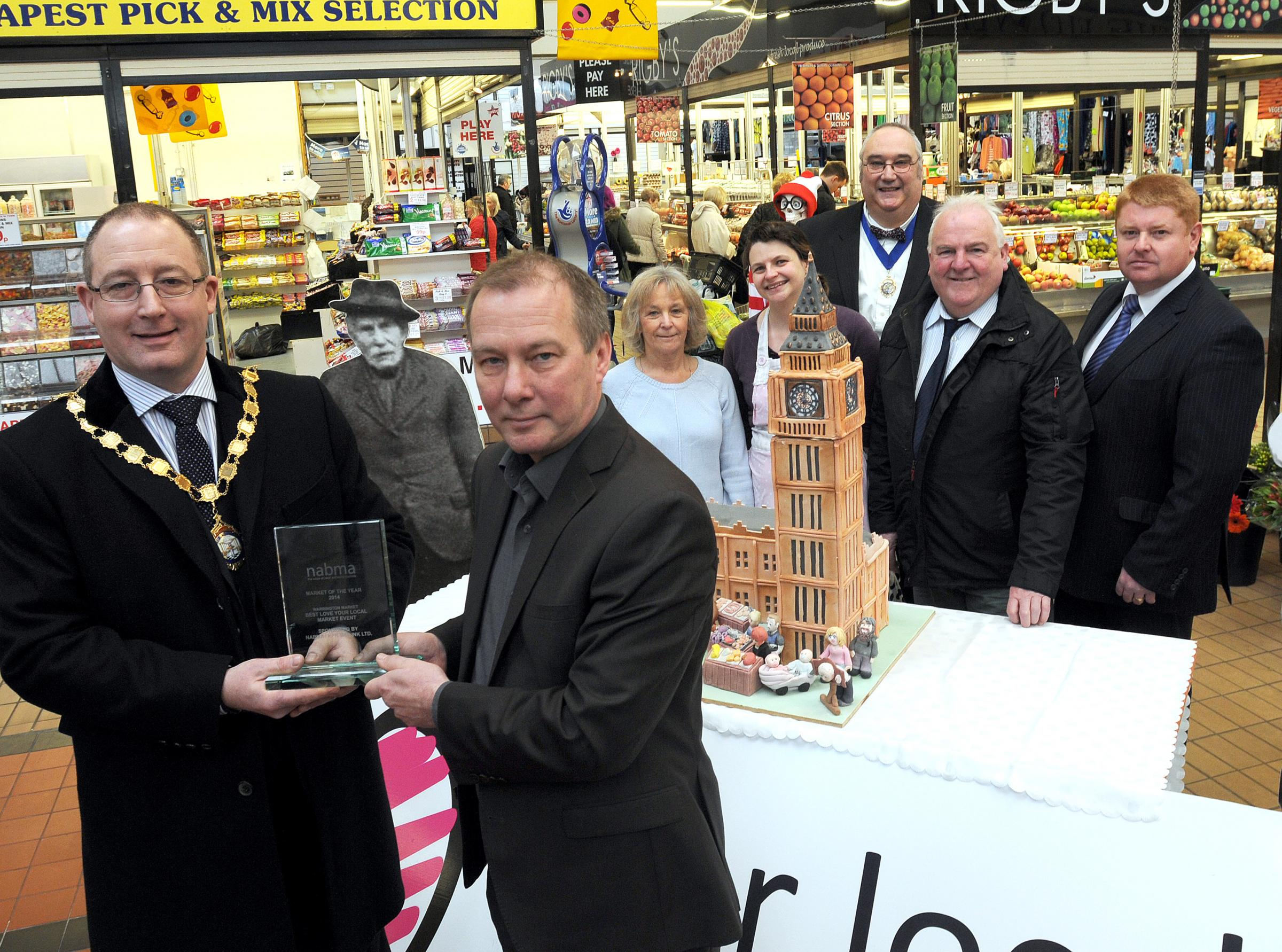 Warrington Market scoops top award
