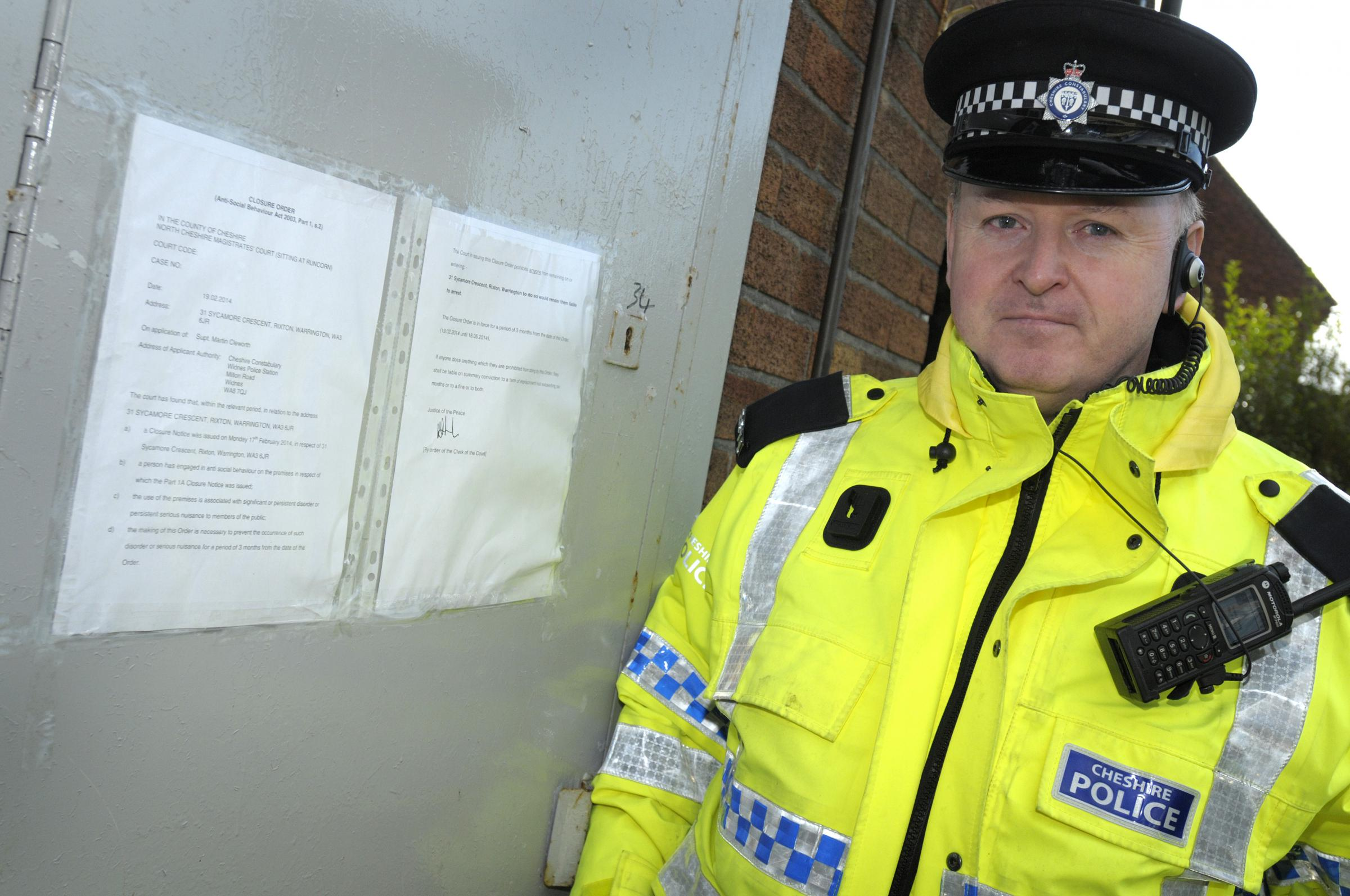 Police shut down 'neighbour from hell' house
