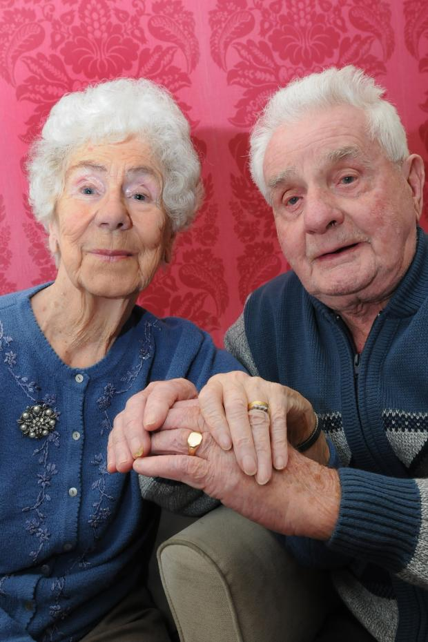 Warrington Guardian: Still happily married in Culcheth  - 72 years on