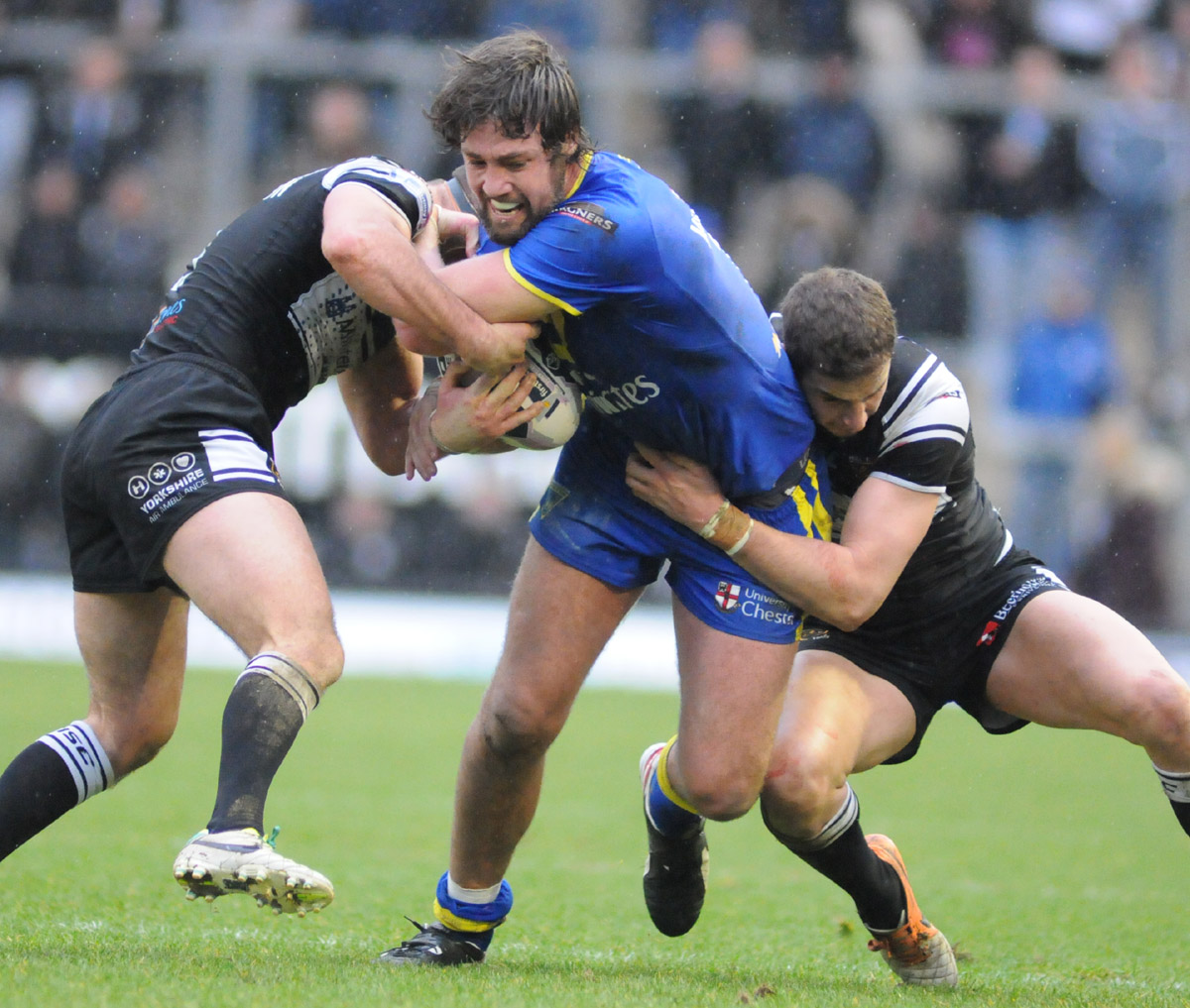 FULL TIME, PICTURES ADDED: Warrington Wolves 18 Hull FC 16