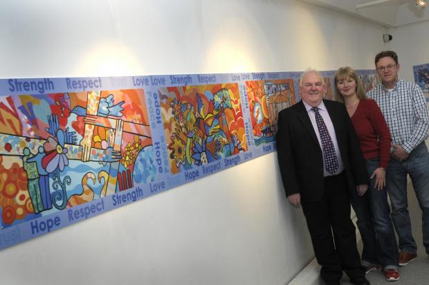 New artwork to mark Warrington bombings unveiled