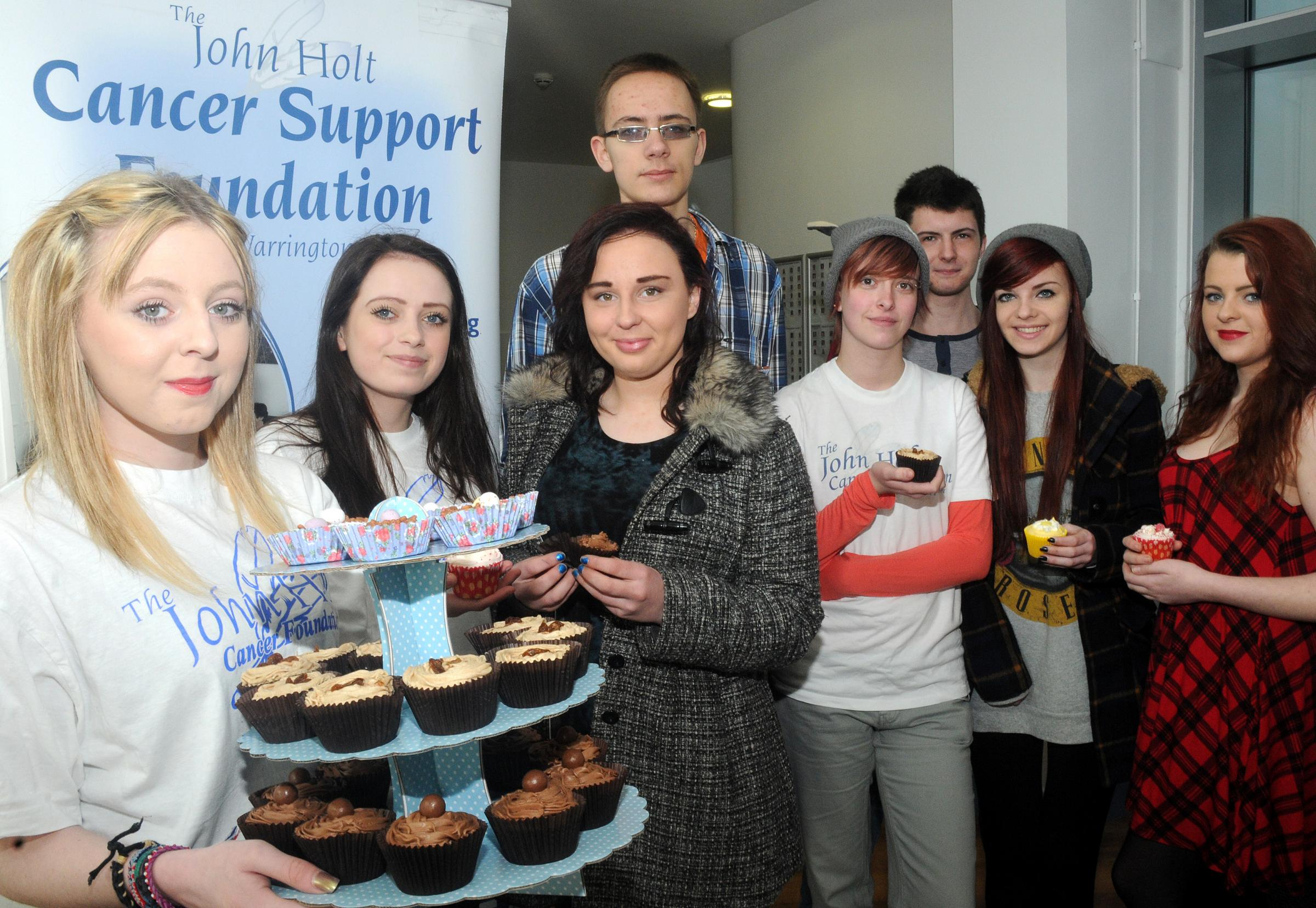 Generous students bake up a storm at John Holt centre