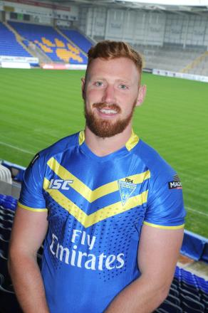 James Laithwaite. scored his first try in Wolves' first grade