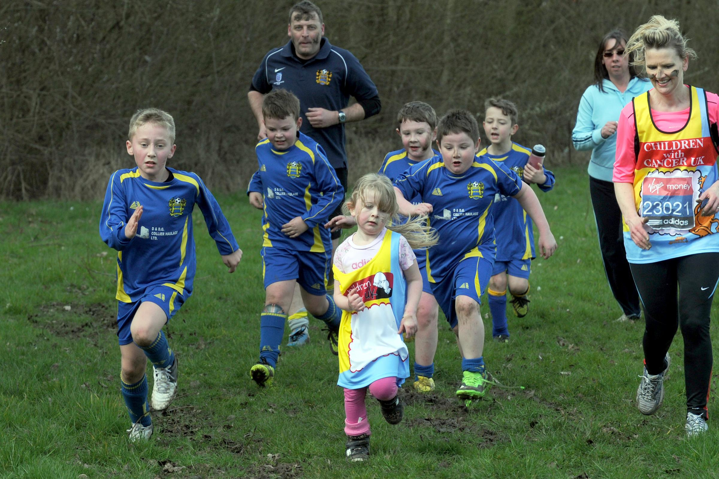 No mud is going to stop Great Sankey youngster in mile challenge
