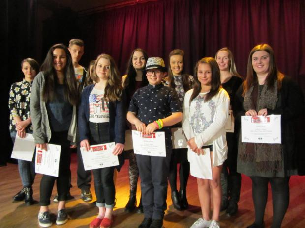 The 10 finalists for the High School Voice