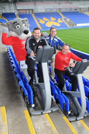 Fundraisers challenged to cycle 500 miles during Wolves-Wigan clash