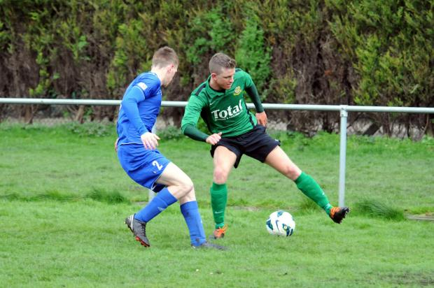 Greenalls against Garswood on Saturday. Picture by Dave Gillespie