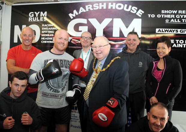 Charity boxing day raises £500 for Mayor's charity