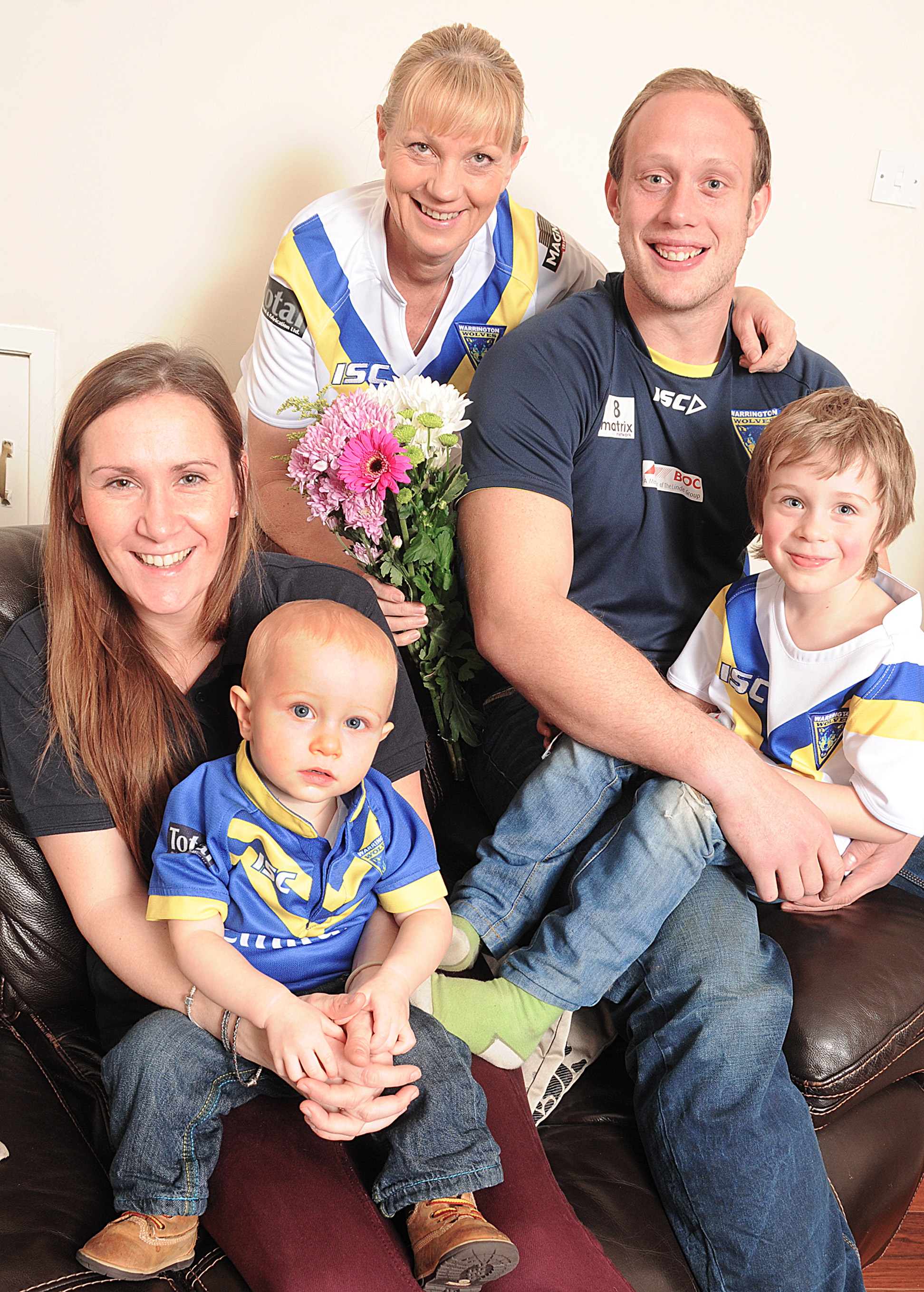 Watching Warrington Wolves will be perfect Mother's Day present