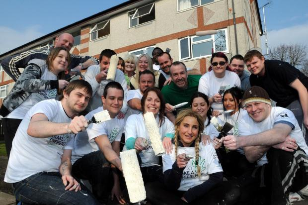 Golden Gates team up with Lloyds for Orford flat makeover