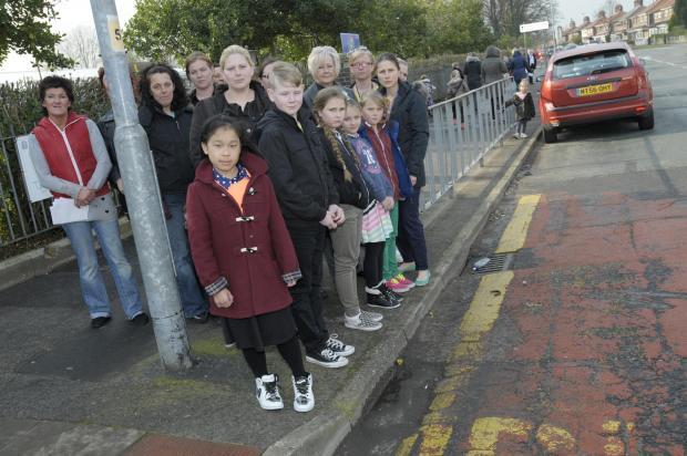 Warrington Guardian: School children call for Lodge Lane to be made safer