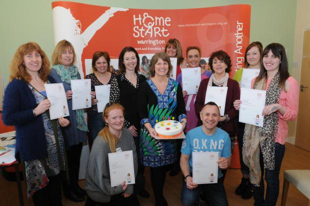 Volunteering is rewarding at Homestart