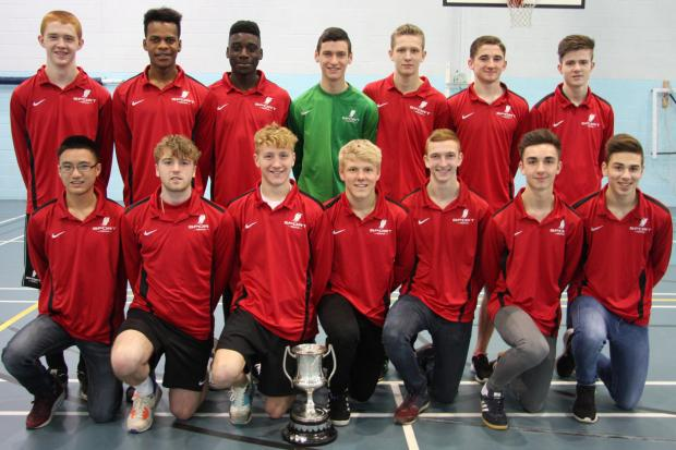 Priestley enjoy Cheshire Colleges' Cup success