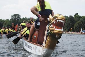 Dragon boat student set for Canada trip
