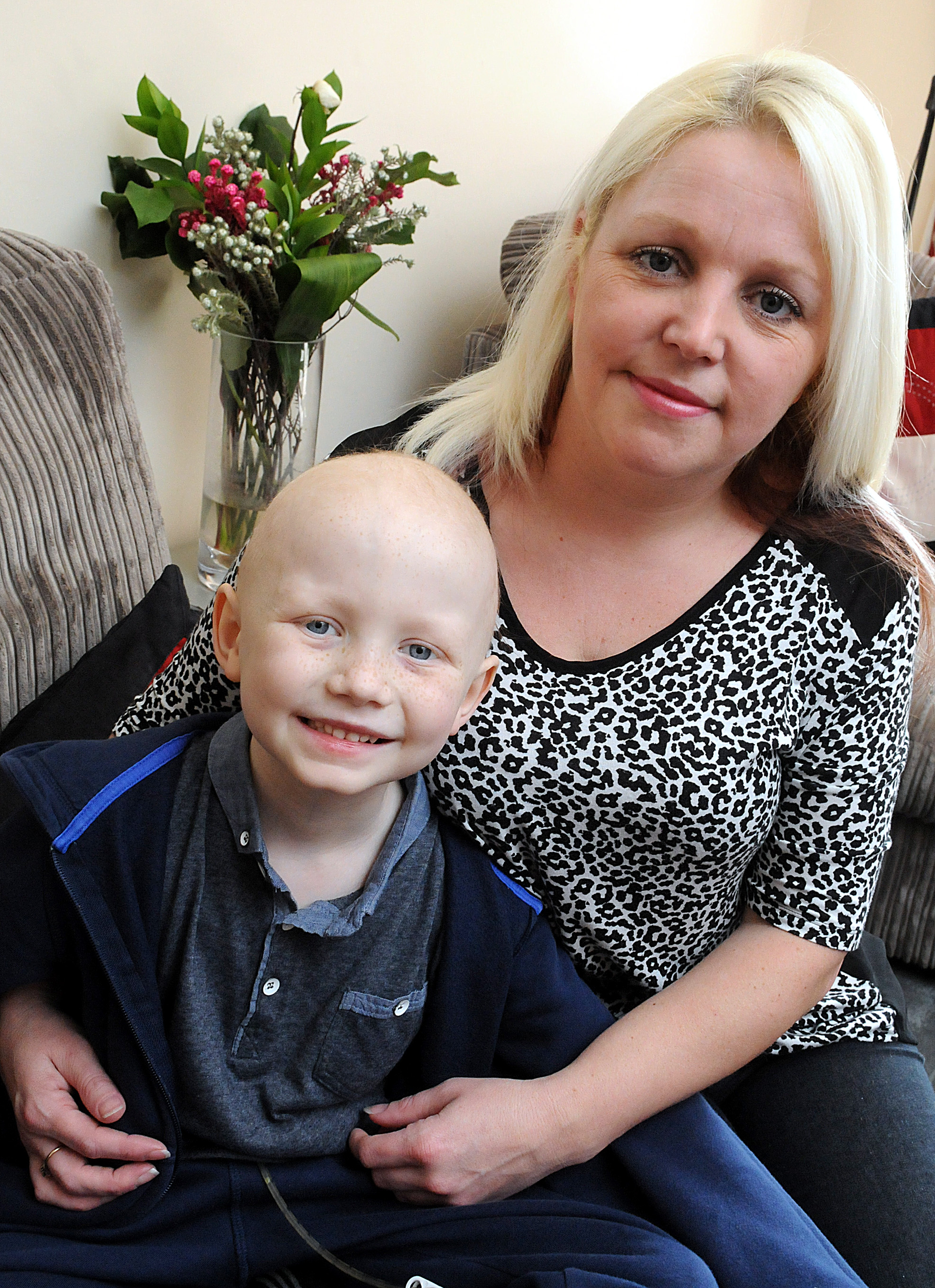 Cinammon Brow seven-year-old's cancer fight