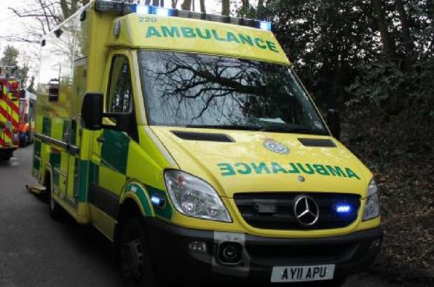 Woman taken to hospital after rush hour Sankey Way crash