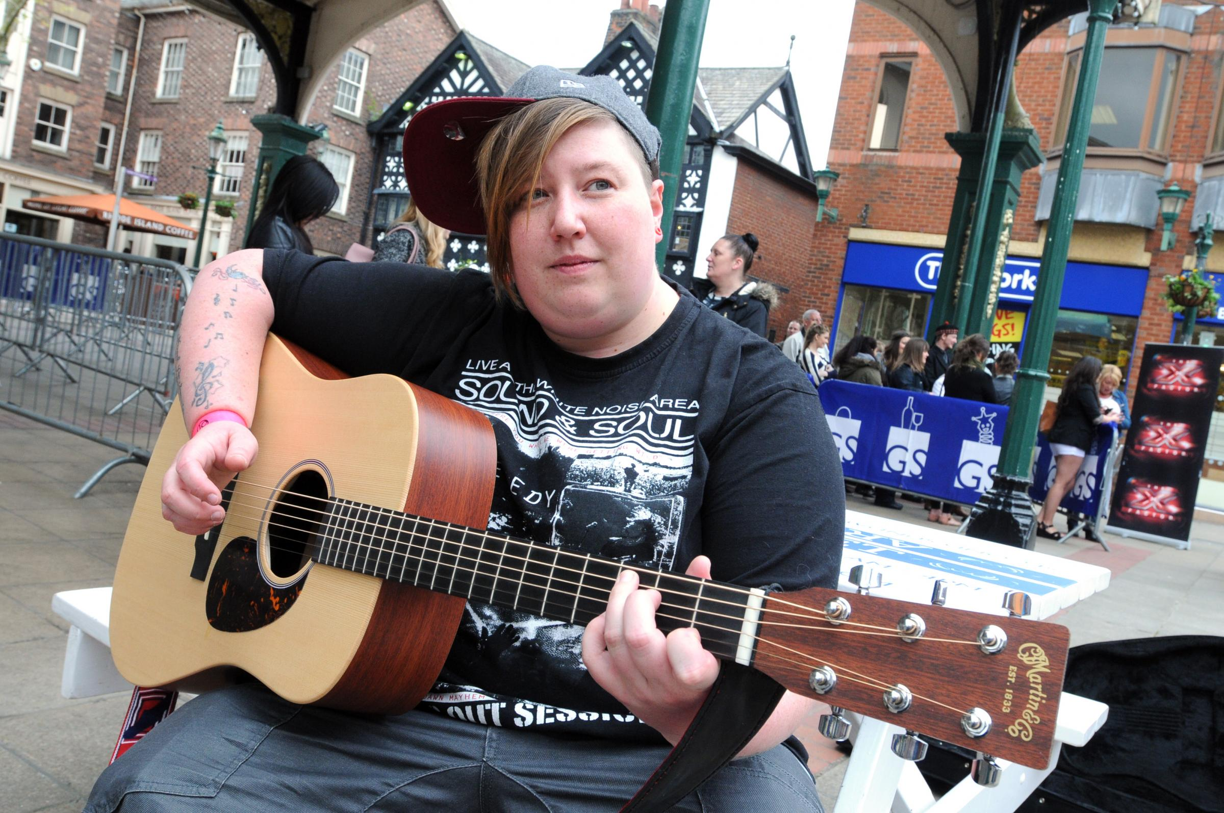 VIDEO: Wannabe stars - including a famous face - line up for Warrington X Factor auditions
