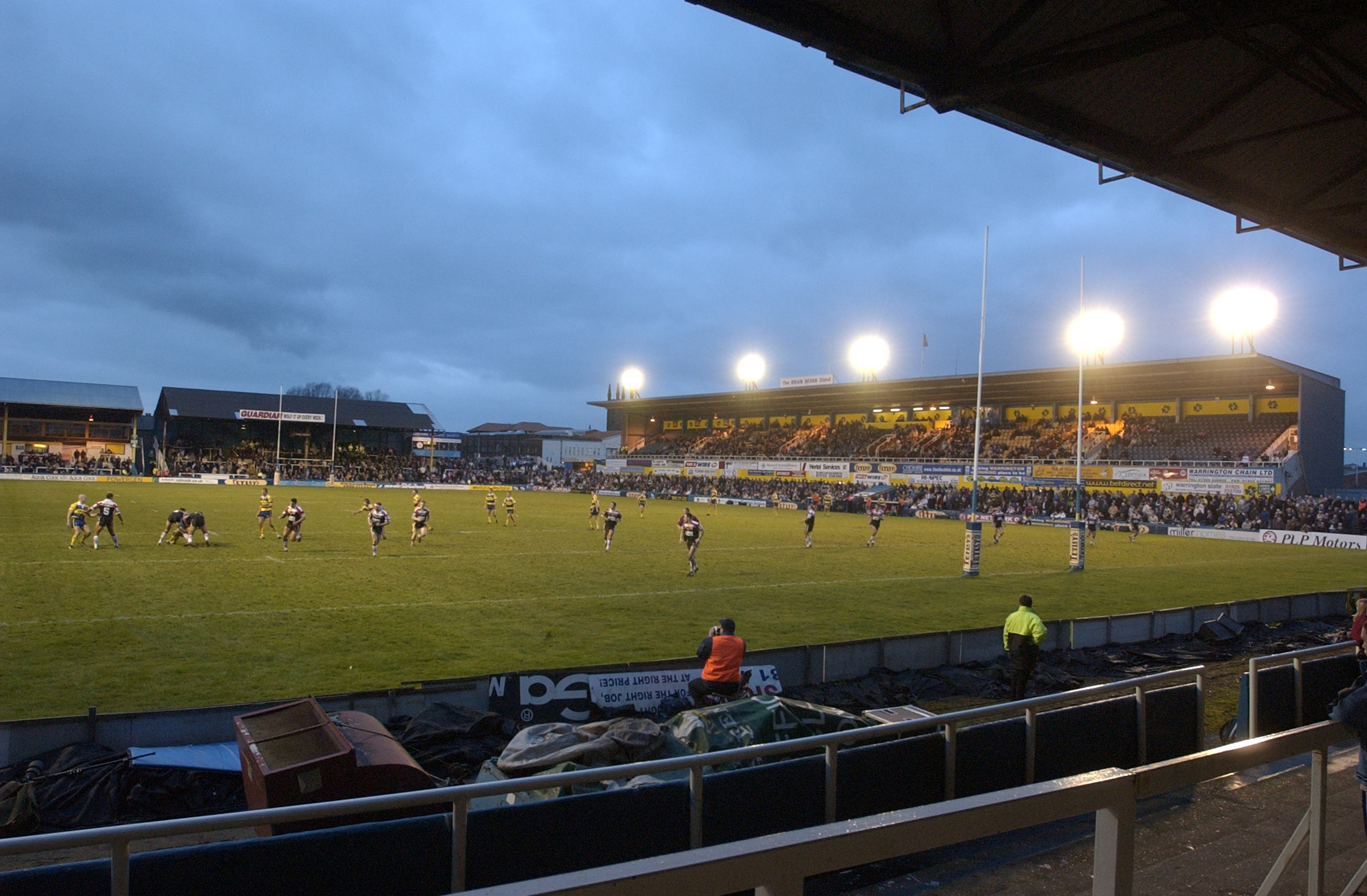 Wilderspool game a sell out