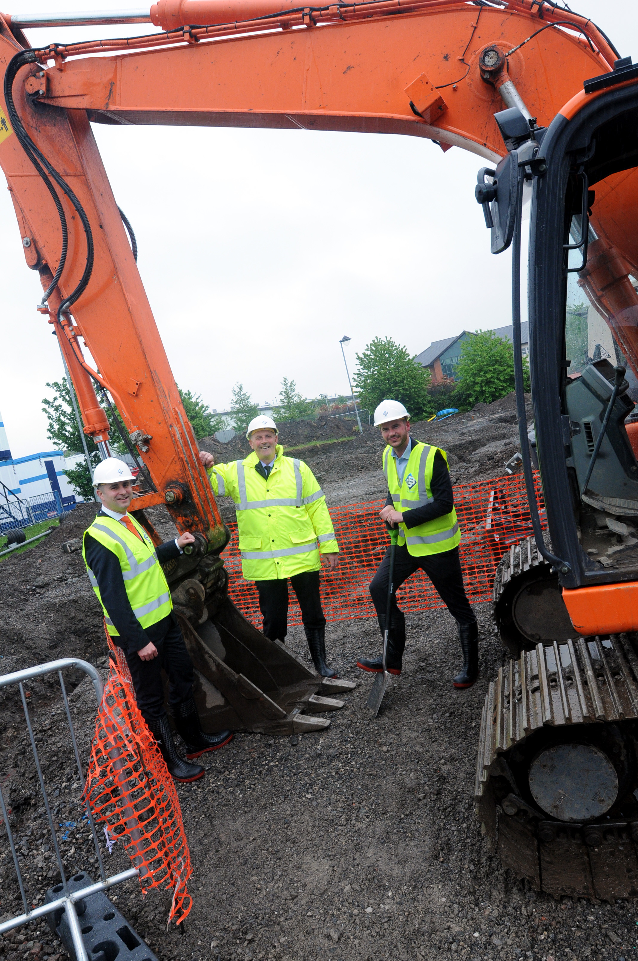 Ground broken at new school in Warrington