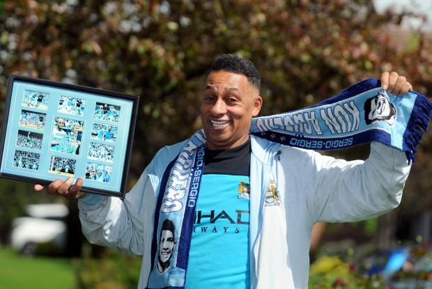 Funnyman Charlie Hale celebrates City success