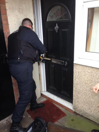 Police seize cannabis in Padgate drugs raid