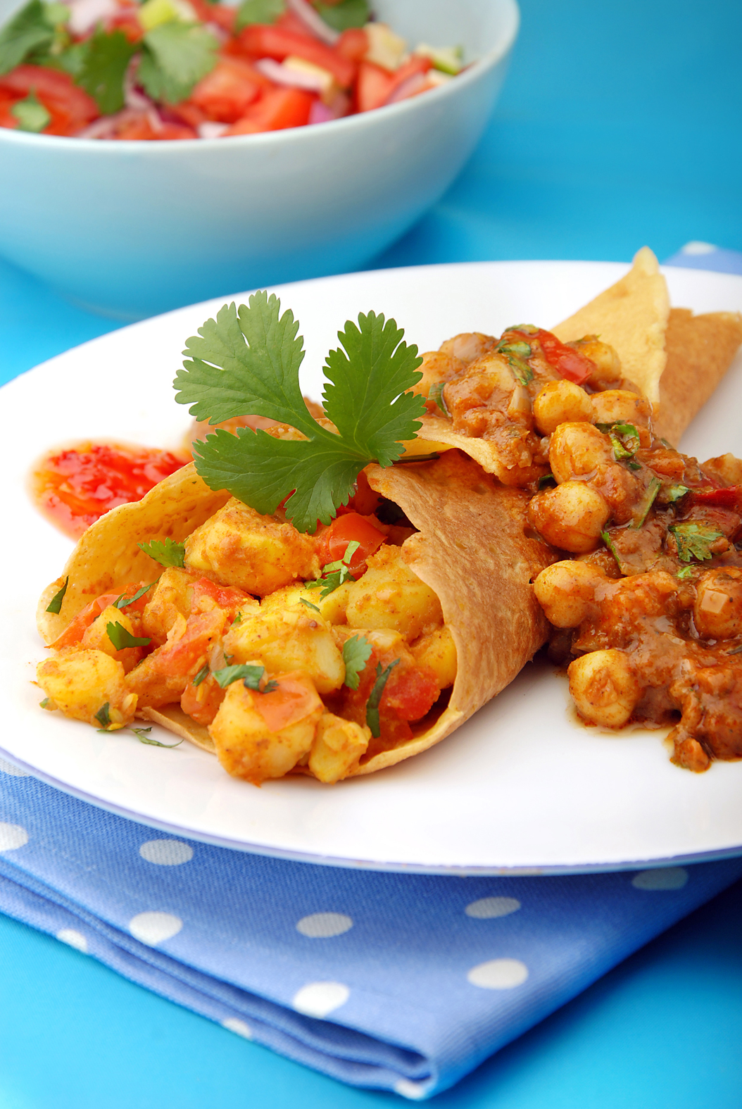 Warrington Guardian: HOT DISH: The Vegetarian Society's Bombay dosa