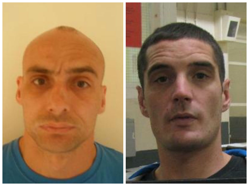 WANTED: Firearms and robbery prisoners escape from Thorn Cross