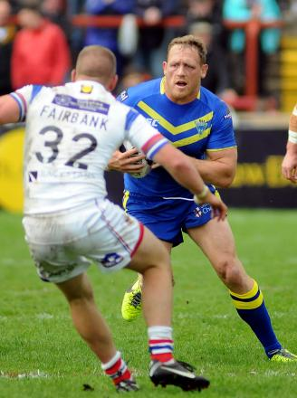 Ben Westwood against Wakefield Trinity Wildcats on Sunday